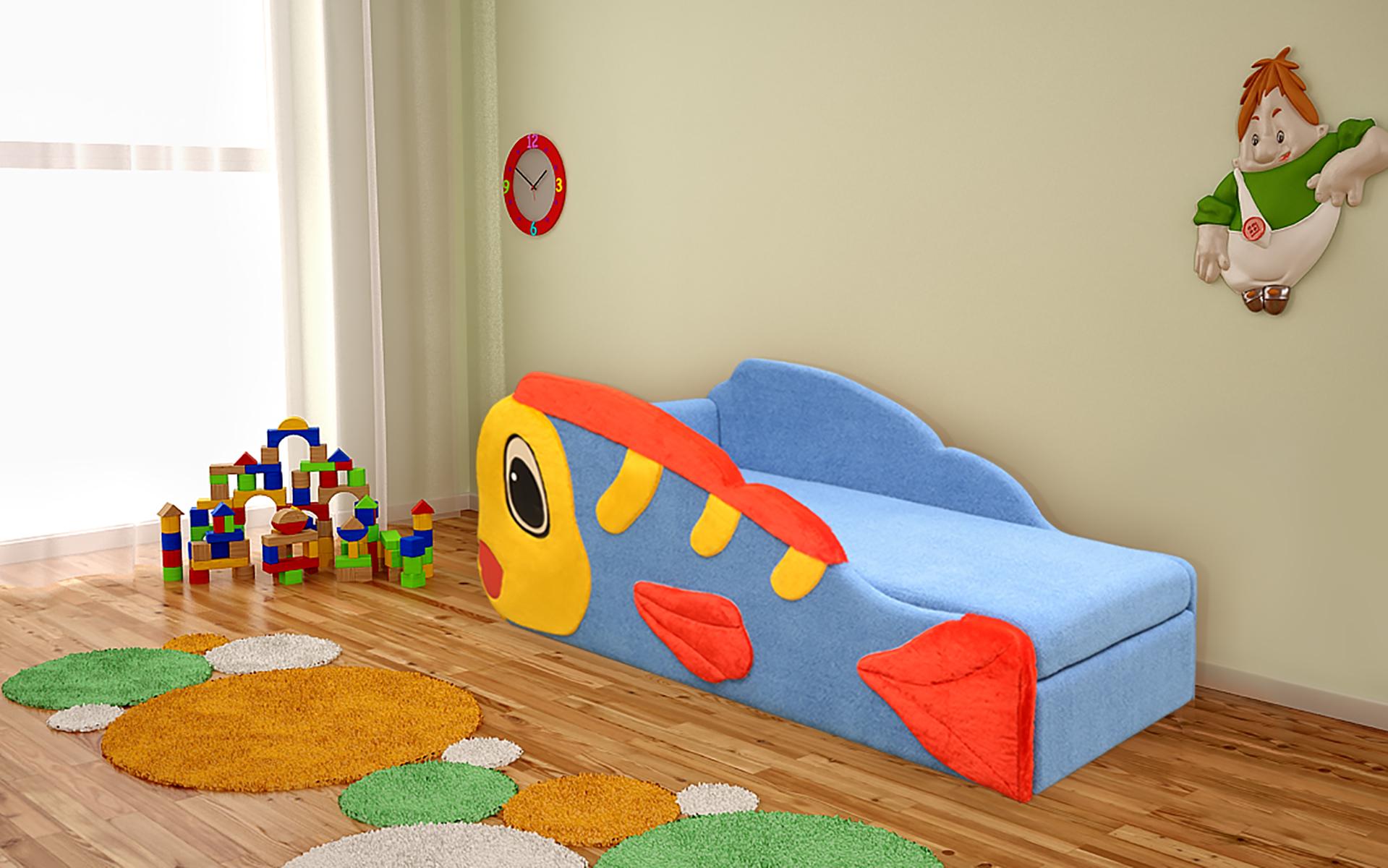 Немо кровать детская, аппликация дешево в Новосибирске — интернет-магазин мебели